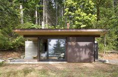 Salt Spring Island Cabin by Olson Kundig Architects