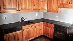 Grand Format, Kitchen Cabinets, Home Decor, Gray, Countertop, Decoration Home, Room Decor, Cabinets, Home Interior Design