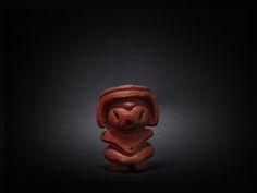 木彫り土偶 14号