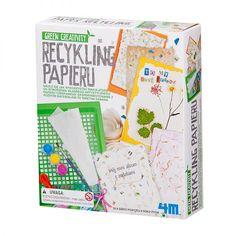 Recykling papieru - świetna i rozwijająca gra!