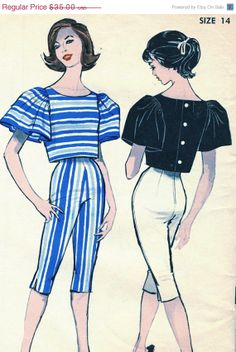 Holiday Savings Vintage 1960s Advance 9345 Misses by RomasMaison, $28.00