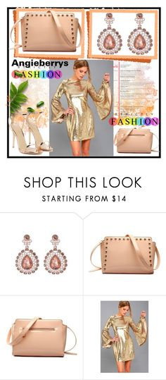 """""""ANGIEBERRYS #6"""" by nizaba-haskic ❤ liked on Polyvore featuring LULUS and Nasty Gal"""