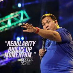 Regularity Builds Up Momentum #g12 #BOMB