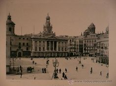 CÁDIZ.PLAZA DE ISABEL II. EDITOR HAUSER Y MENET. MADRID - Foto 1