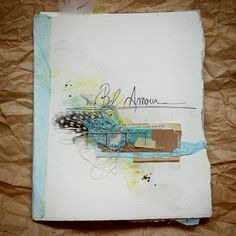 **Mon scrap par Liliema**: ~~ Art Journal ~~