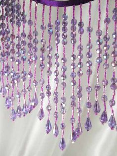 """Lily 1/"""" Light Blue 3 Seed Beads and Crochet Beautiful Beaded Trim By Yardage"""