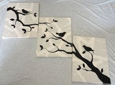 Custom Book Bird Art.  Use cardboard, book pages, and paint.  Simple, but fun art!