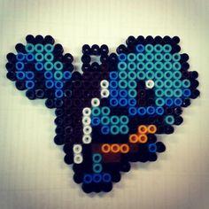 #squirtle #pokemon #nintendo #perlerart #keychain #hama #pyssla #perler #art