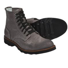 SeaVees 05/63 Boondocker Boots - Leather (For Men) ? GUNMETAL ROUGHOUT LEATHER