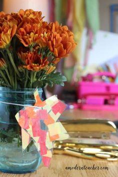 Friday Flowers; Teacher Ideas