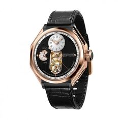 A tourbillon with a chain and fusée constant force transmission, the FB 1 Chronometer is the first wristwatch from Ferdinand Berthoud, a grand old name in watchmaking that has been resurrected by Chopard. Ferdinand, Renaissance, Gentleman Watch, Luxury Watch Brands, Chopard, Pink And Gold, Rose Gold, Gold Watch, Bracelet Watch