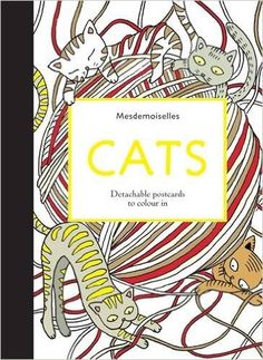 Cats postcards (Colouring for Mindfulness): Amazon.co.uk: Mesdemoiselles: 9780600633082: Books