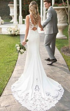 onlybridals Mermaid Boho Wedding Dresses Sweetheart Appliques Lace Chiffon Wedding Gowns Backless Bride Dress onlybridals Mermaid Boho Wedding Dresses Sweetheart Appliques Lace Chi – The Only Love Wedding Dress Off White Wedding Dresses, Chiffon Wedding Gowns, Cute Wedding Dress, Sweetheart Wedding Dress, Dream Wedding Dresses, Bridal Dresses, Wedding White, Lace Chiffon, Trumpet Wedding Dresses
