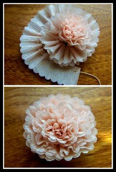 Superchick Studios: DIY ~ Crêpe Paper Flowers! ... http://www.celebrate2da.com/2011/05/diy-crepe-paper-flowers.html#