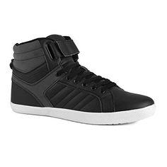 Influence Men's Rick High-Top Fashion Sneakers, Black, Size 9 - http://www.mansboss.com/influence-mens-rick-high-top-fashion-sneakers-black-size-9/?utm_source=PN&utm_medium=I+love+Men%27s+Fashion&utm_campaign=SNAP%2Bfrom%2BMen%27s+Stuff