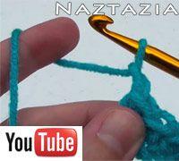 Beginner crochet video part two from Naztazia