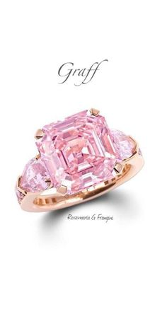 Rosamaria G Frangini | High Pink Jewellery | Graff Pink Diamond Ring |