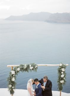 Intimate Wedding and a huricane in Santorini Santorini Wedding, Intimate Weddings, Destination Wedding Photographer, Tuscany, Couple Photos, Couple Pics, Tuscany Italy