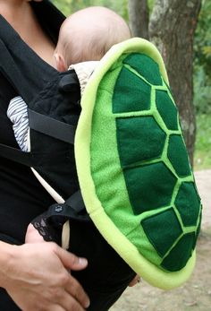 Turtle Shell Baby Carrier. Too cute!!
