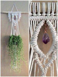 Macrame Plant Hanger Macrame Wall Hanging Planter Macrame