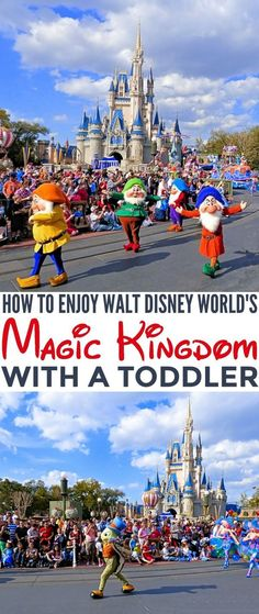 Family Travel Tips to help you learn How to Enjoy your vacation in Walt Disney World's Magic Kingdom with a Toddler in tow.