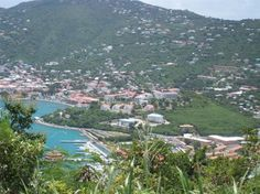 View on St. Thomas Harbor