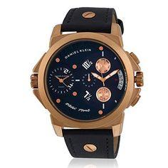 daniel klein 10185-5 ανδρικό ρολόι με διπλή ένδειξη ώρας