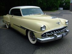 1954 Desoto Firedome  Maintenance/restoration of old/vintage vehicles: the material for new cogs/casters/gears/pads could be cast polyamide which I (Cast polyamide) can produce. My contact: tatjana.alic@windowslive.com