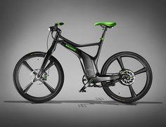 Smart Brabus E-bike.
