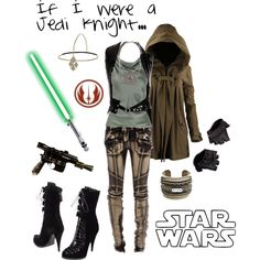 """If I were a Jedi Knight"" by ghsdrummajor on Polyvore"