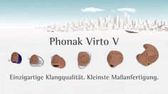 Technologie Phonak Virto V   SONTEC HEARING AIDS,  Hörgeräte, Audífonos,...