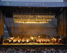 Memphis in May Sunset Symphony - on the Bluff of the Mighty Mississippi - Music and Fireworks.