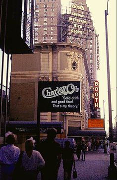 Broadway marquee Sunday in the Park with George Booth Theatre Sondheim