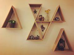 Triangle shelves, repisa triángular