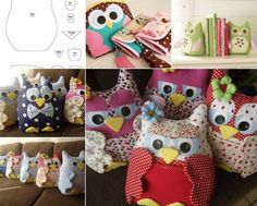 Owl Remote Control Holder FREE Sewing Pattern