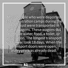 Prisoners were treated worse than cattle.