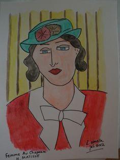 femme au chapeau de Matisse.