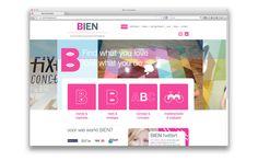 bien website design by daily milk