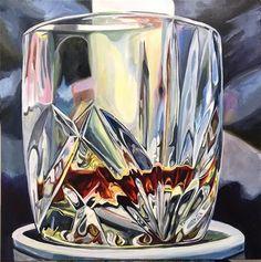 "Daily Paintworks - ""Big Brandy"" - Original Fine Art for Sale - © Lauren Kuhn"