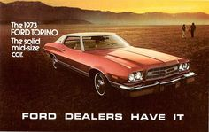 1973 Ford Gran Torino 2-Door Hardtop by aldenjewell, via Flickr