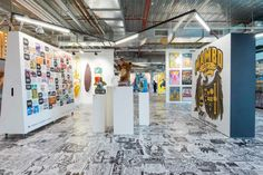 New Creative Space by loopcreative for aMBUSH Gallery at Central Park, Sydney – Australia » Retail Design Blog
