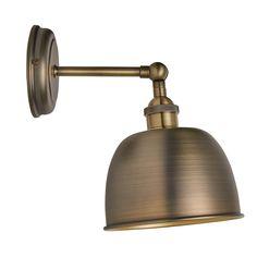 BuyJohn Lewis Baldwin Wall Light, Brass Online at johnlewis.com
