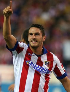 Koke, Atletico de Madrid AUPA Good Soccer Players, Football Players, World Football, Football Soccer, I Want To Cry, Sport Man, Champions League, Pretty, Food