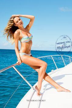 Cruising in a Victoria's secret bikini