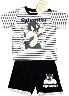 Looney Tunes Boys Sylvester T-shirt & Shorts Set, sizes 9 months to 3 Years in Baby, Clothes, Shoes & Accessories, Boys' Clothing (0-24 Months) | eBay