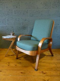 50 s 60 s Eric Lyons Mid Century Bent Ply Tecta Arm Chair Teak Beech Retro