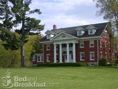Georgian Colonial Mansion gracious red brick georgian colonial on 35 breathtaking acres