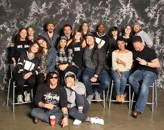 The Walking Dead cast at Walker Stalker Con Atlanta 2015