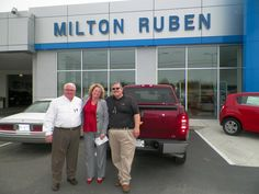 www.DriveBaby.com  On behalf of salesman Ray Lockamy and the rest of us at the Milton Ruben Superstore, thank you and congratulations on your new Chevrolet Silverado Sullivan family! #DriveBaby