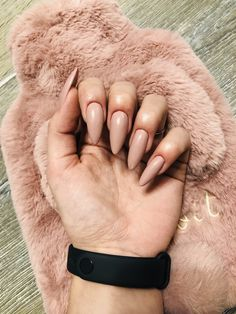 #nails Nude Nails, Passion, Beauty, Beige Nail, Beleza, Cosmetology, Simple Nails